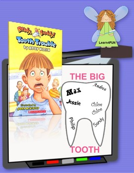 Ready, Freddy!  Tooth Trouble Novel Study