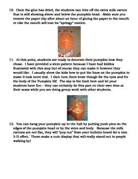 """Ready Freddy's The Pumpkin Elf Mystery"" Mini-unit"