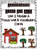Ready Gen 2016 Kindergarten Focus Wall - Unit 2 Module A