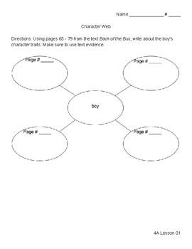 Ready Gen 3rd Grade Unit 4 Module A Reading Analysis Organizers