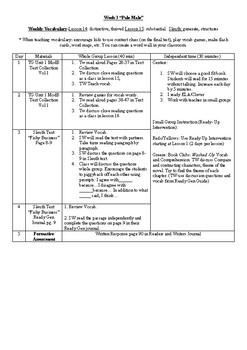 Ready Gen 5th Grade Reading Lesson Plans: Unit 1