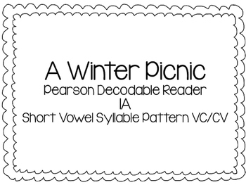 Ready Gen A Winter Picnic Pearson Decodable Reader