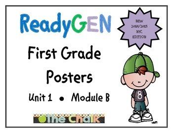 ReadyGEN First Grade Posters Unit 1 Module B