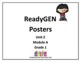 ReadyGEN First Grade Posters Unit 2 Module A