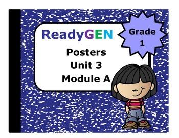 ReadyGen First Grade Unit 3 Module A Posters