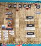 Ready Gen Focus Wall or Concept Board Blue Polka Dot Headers