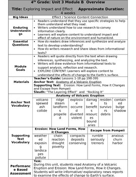 Ready Gen Fourth Grade Unit 3 Module B Overview Revised