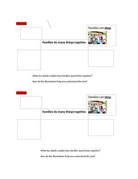 Ready Gen Grade 1 Unit 2 Module B Lesson 6- Main Idea & Key Details