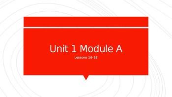 Ready Gen Grade 3 Vocabulary Unit 1 Module A Lessons 16-18