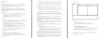 Ready Gen Grade 5 Unit 3 Module A Lesson Plan Bundle