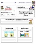 Grade 5 Ready Gen  Unit 3 Vocabulary Practice