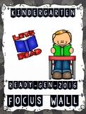 Ready Gen Kindergarten 2016 Focus Wall (CHALKBOARD Theme) - MEGA BUNDLE