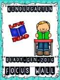 Ready Gen Kindergarten 2016 Focus Wall (Polka Dot Theme) -