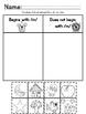 Ready Gen Kindergarten 2016 - Module 1B Worksheet Set