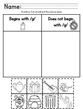Ready Gen Kindergarten 2016 - Module 4B Worksheet Set
