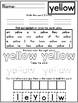 Ready Gen Kindergarten 2016 - Module 5A Worksheet Set