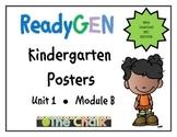 ReadyGEN Kindergarten Posters Unit 1 Module B