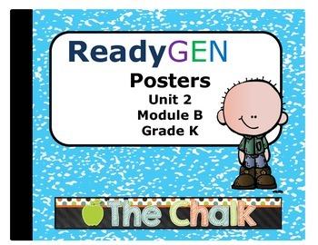 ReadyGen Kindergarten Unit 2 Module B Posters
