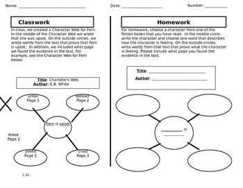 Ready Gen Lesson 1.1 A Homework