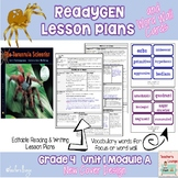 ReadyGen 2014-15 Lesson Plans Unit 1 Module A -Word Wall C
