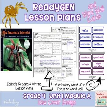 ReadyGen 2014-15 Lesson Plans Unit 1 Module A -Word Wall C