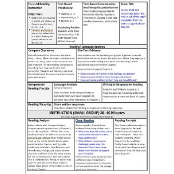 ReadyGen Lesson Plans Unit 1 Module A  - Word Wall Cards - EDITABLE -Grade 5