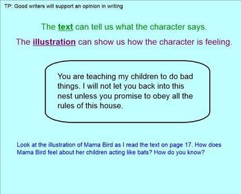 Grade 1 Ready Gen Module A Writing Smartboard Lessons 7-13
