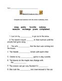 Ready Gen Module B Vocabulary Quiz