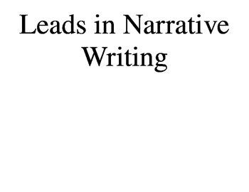 Ready Gen Narrative Leads