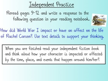 Ready Gen (ReadyGen) Grade 5 Reading Lesson 1 Module B Smartboard