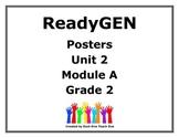ReadyGen Second Grade Unit 2 Module A Posters
