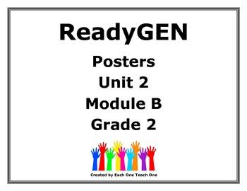 ReadyGen Second Grade Unit 2 Module B Posters