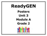 ReadyGen Second Grade Unit 3 Module A Posters
