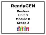 ReadyGen Second Grade Unit 3 Module B Posters