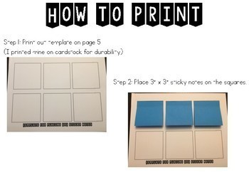 Ready Gen Set Kinder Print & Sticky Notes Growing Bundle