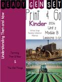 Ready Gen Set Print & Go Unit 2 Module B Kinder Bundle