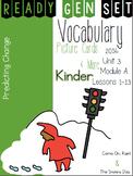 Ready Gen Set Print & Go Unit 3 Mod A Kinder Vocabulary