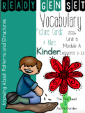 Ready Gen Set Print & Go Unit 5 Mod A Kinder Vocabulary