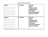 Ready Gen Small Group Writing