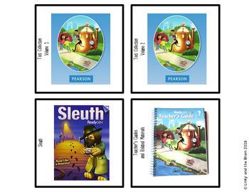 Ready Gen Third Grade Book Bin Organizing Labels