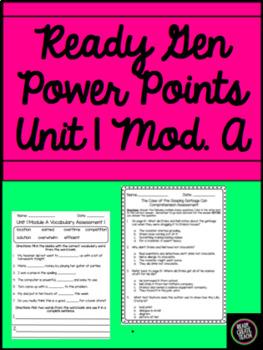 Ready Gen Third Grade Unit 1 Module A Bundle