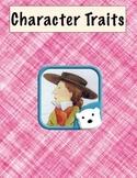 Ready Gen - Unit 1 - Character Trait Graphic Organizers - 4th Grade