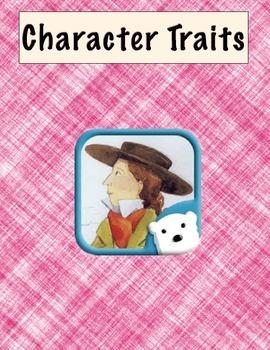 Ready Gen - Unit 1 - Character Trait Graphic Organizers -