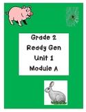 Ready Gen Worksheets Gr. 2 Unit 1A  Lessons 1-13 Charlotte/Snowshoe