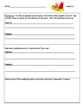 Ready Gen Worksheets Gr. 2 Unit 1A  Lessons 1-13 Charlotte/Snowshoe