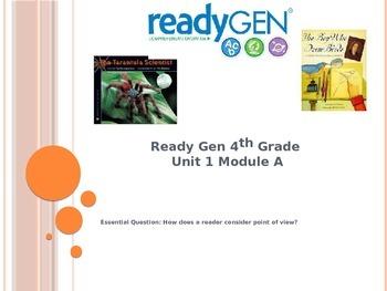 Ready Gen Unit 1 Module A 4th Grade Power Point Lessons