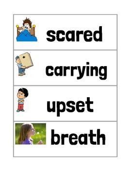 Ready Gen Unit 1 Module A Vocabulary Cards Second Grade