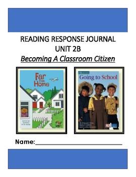 Ready Gen Unit 2 Module B Response to Reading Journal Grade 1