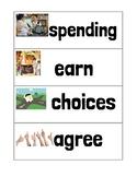 Ready Gen Unit 2 Module B Vocabulary Cards Second Grade