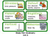 Ready Gen Unit 3 Mod A Vocabulary